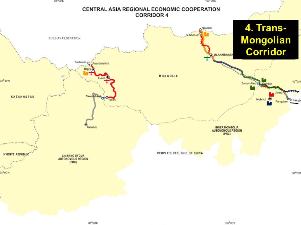 4. Trans- Mongolian Corridor