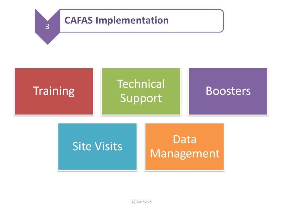 (c) Barwick 3 CAFAS Implementation