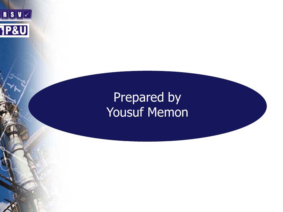 Prepared by Yousuf Memon