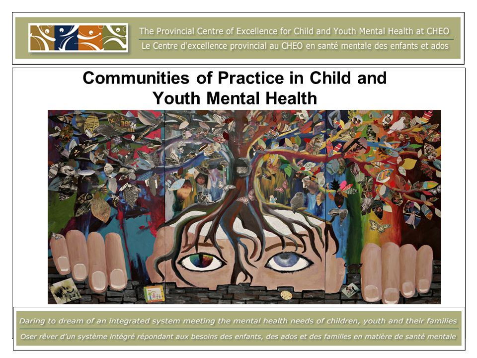 Communities of Practice in Child and Youth Mental Health