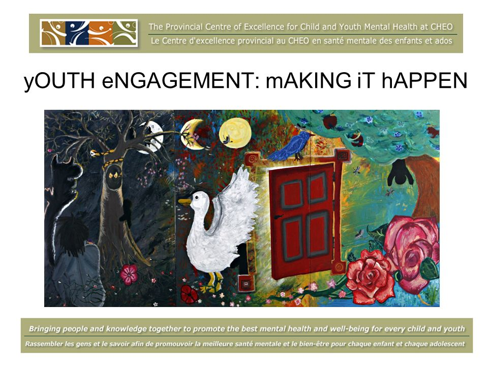 yOUTH eNGAGEMENT: mAKING iT hAPPEN