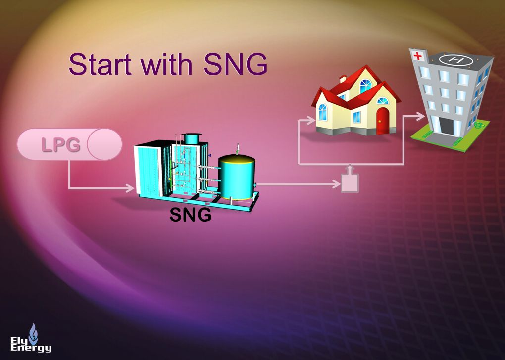 LPG SNG Start with SNG