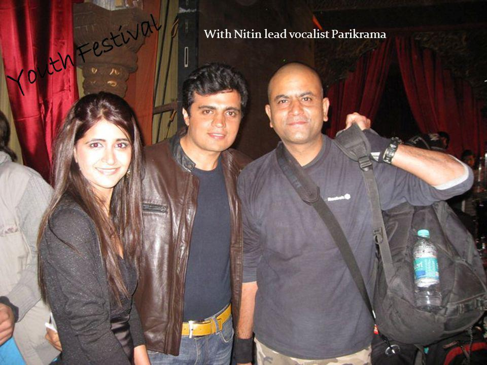 With Nitin lead vocalist Parikrama