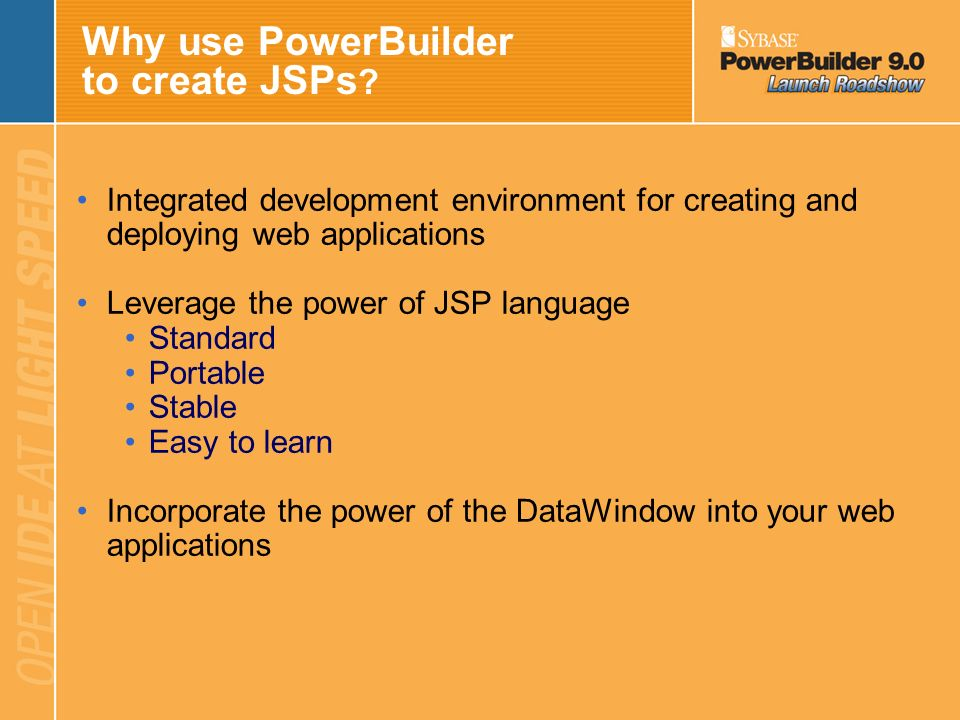 Introduction to JSP Technology JSP is… –A technology for delivering dynamic content –Based upon Java Servlet technology JavaServer Pages –Contain stan