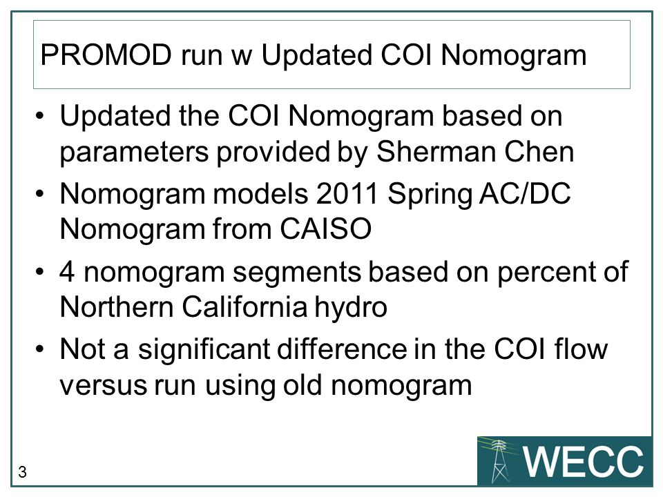 COI Flows The run with new COI nomogram (PC0_98COI) overlays run with old nomogram (PC0_84)