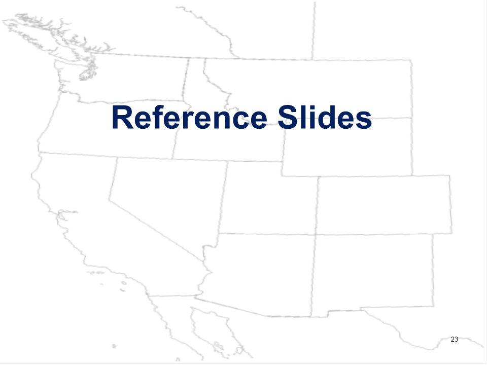 Reference Slides 23