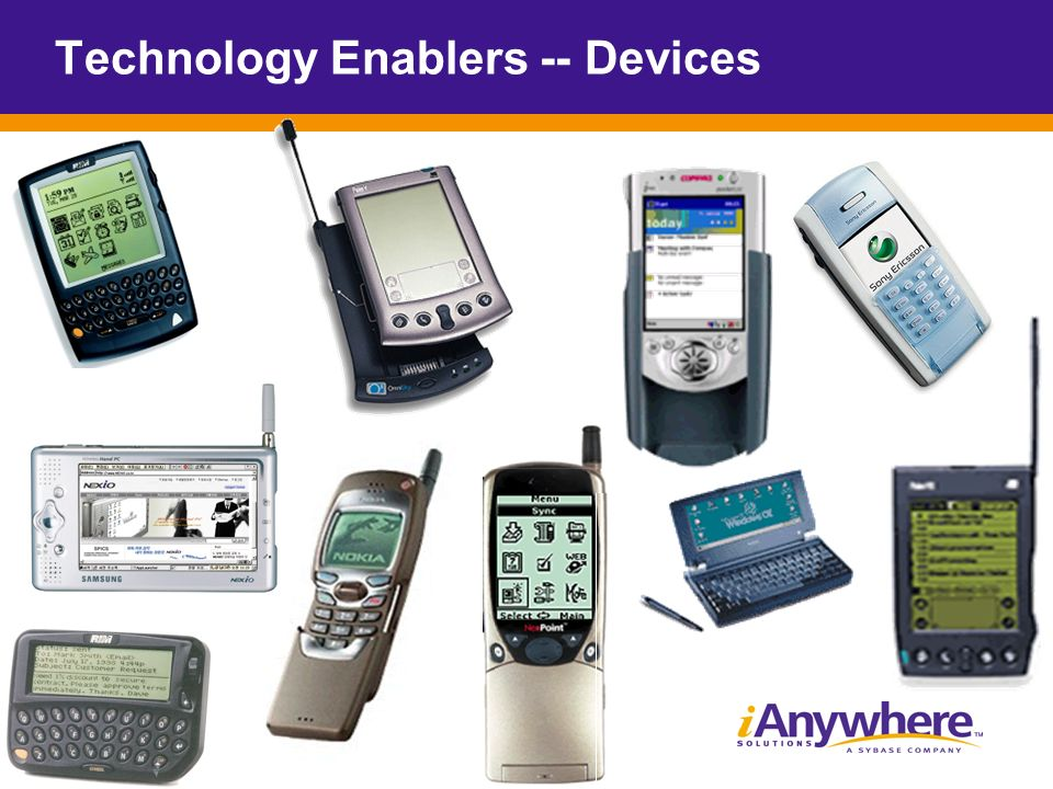 Technology Enablers -- Devices