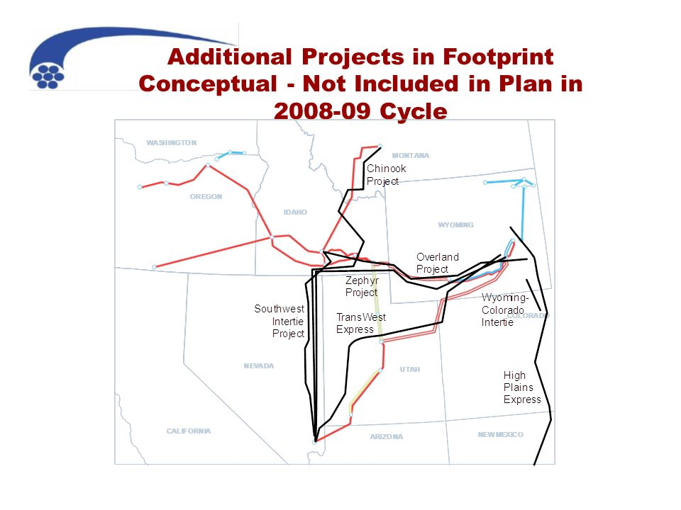 Additional Projects in Footprint Conceptual - Not Included in Plan in 2008-09 Cycle