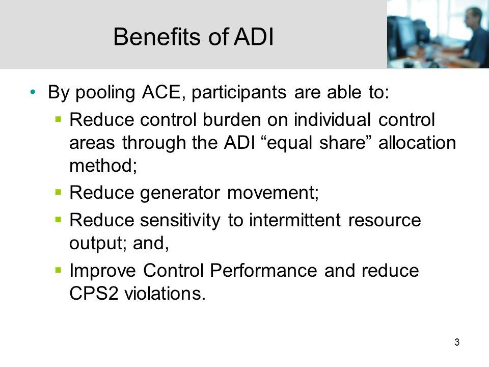 34 ADI Evaluation: Magnitude of ADI Adjustment IPC Analysis: Four ADI Participants Data Period: 8/11 – 9/30/2008
