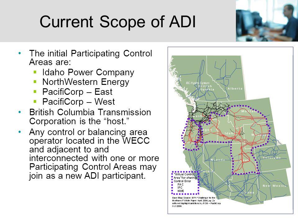 17 ADI Equal Share Allocation Method Design Objective: minimize generator movement.