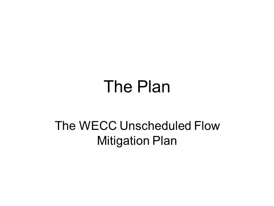 The Plan The WECC Unscheduled Flow Mitigation Plan