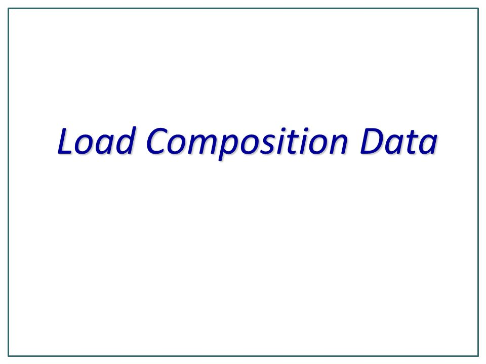 9 Long ID field in PSLF program is used to identify the load climate zone and substation type The LID consists of 7 characters.