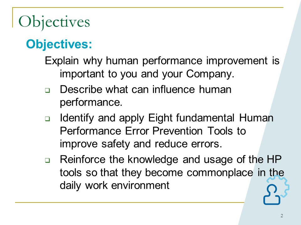 1 Human Performance Improvement Work Group WECC Strawman Class Based on INPO and DOE manuals