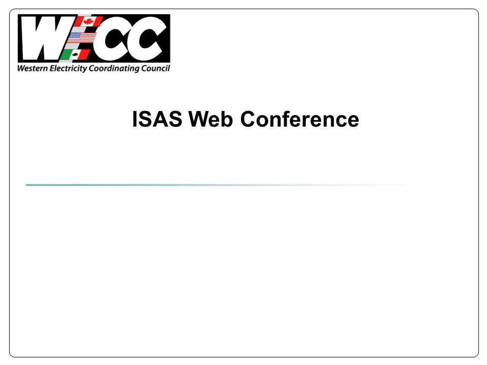 ISAS Web Conference
