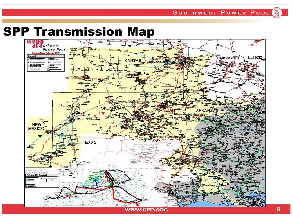 www.spp.org 9 SPP Transmission Map