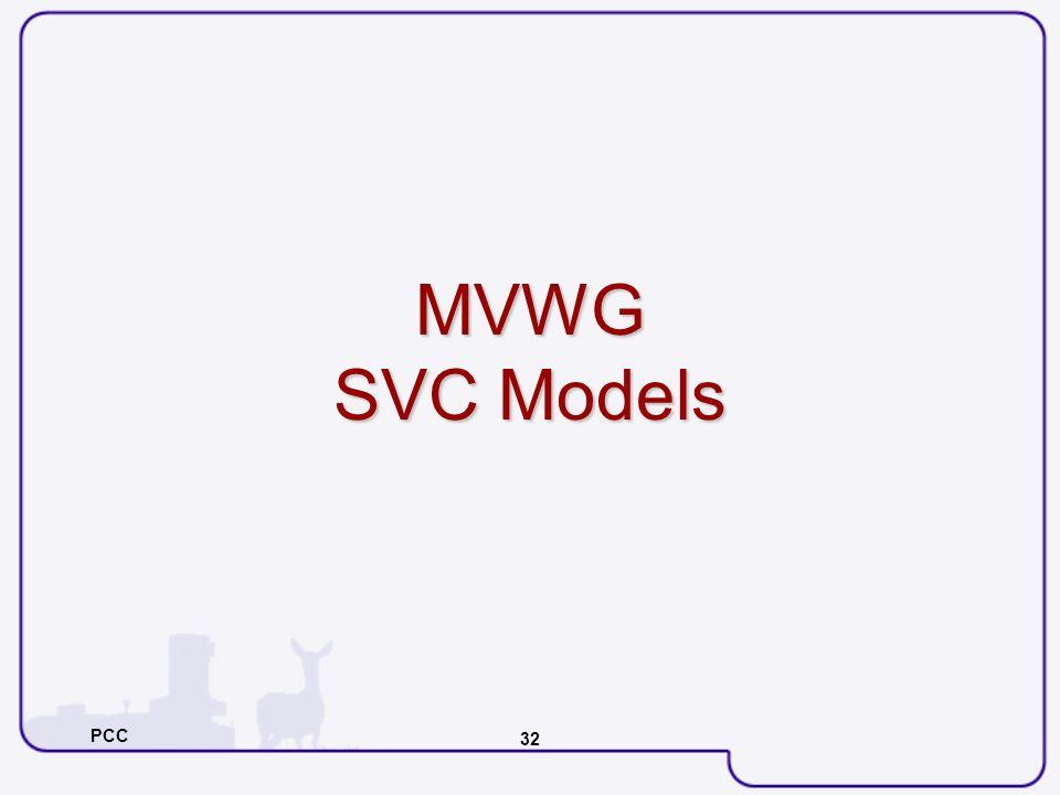 PCC 32 MVWG SVC Models