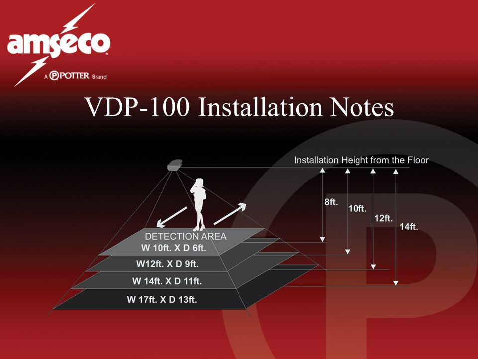 VDP-100 Installation Notes