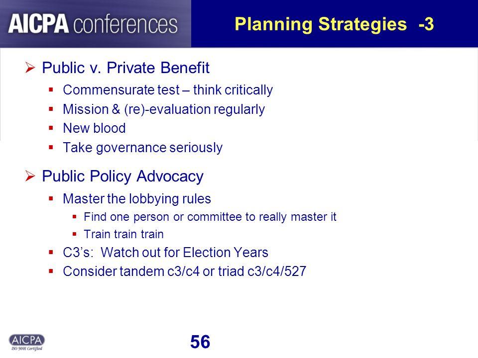 56 Planning Strategies -3 Public v.