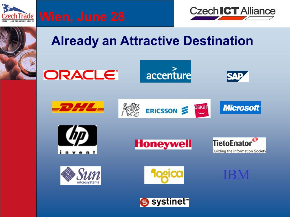 Wien, June 28 Already an Attractive Destination IBM