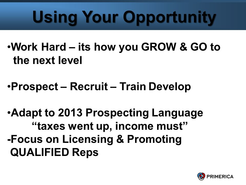 5 Using Your Opportunity Why your 2013 compensation is Overrides + Qualified Rep $ 1,000 = $ 250 Stock Qualified District $ 2,500 = $ 1,000 Stock Qualified Division $ 5,000 = $ 3,000 Stock Qualified Regional $ 7,500 = $ 4,000 Stock Qualified RVP $10,000 = $15,000 Stock $23,250 Total Stock (Potential Award) SELL YOUSELF THE DREAM EVERYDAY!