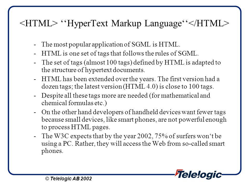 XMI output tree XMI XMI.content ModuleProject Project.CoordinateXProjectCoordinateY Project.NameProject.labelModule.NameModule.label Xmi.uuid node3 688.00592.00huhu hahaname node4 Xmi.uuid © Telelogic AB 2002