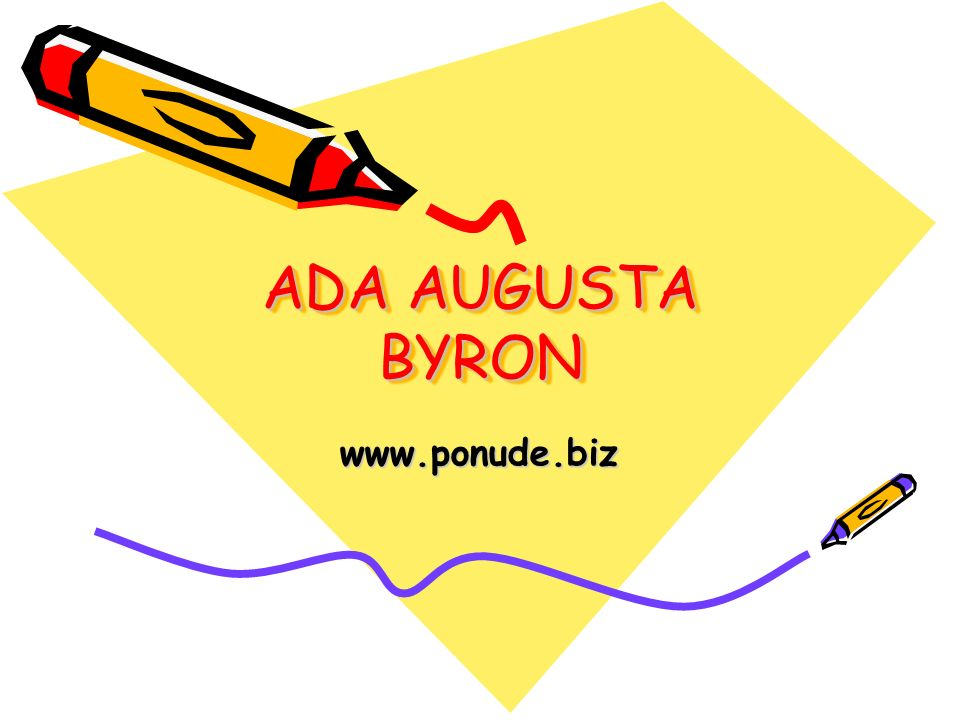 ADA AUGUSTA BYRON www.ponude.biz