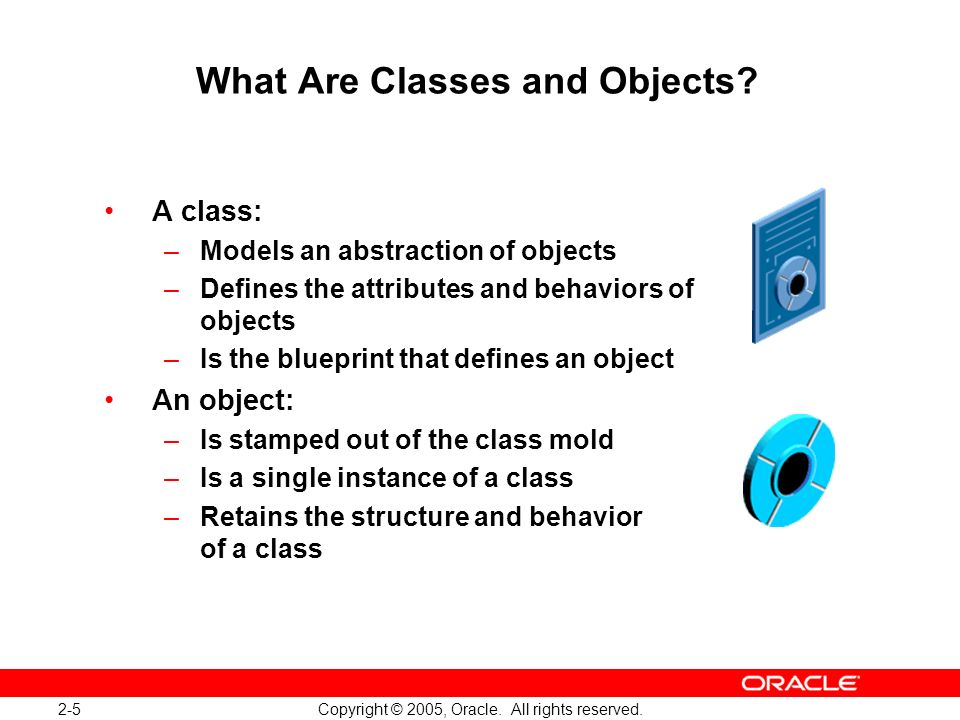 2-6 Copyright © 2005, Oracle.All rights reserved.