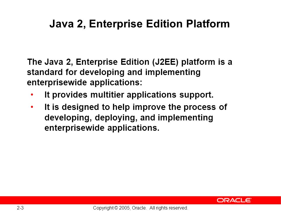2-24 Copyright © 2005, Oracle.All rights reserved.