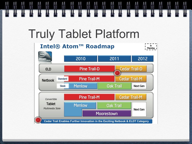 Truly Tablet Platform