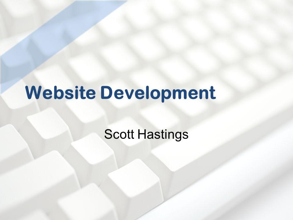 Website Development Scott Hastings