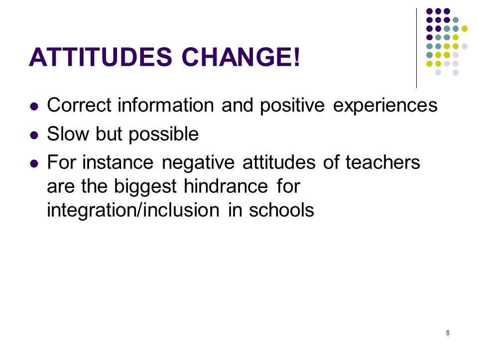 8 ATTITUDES CHANGE.