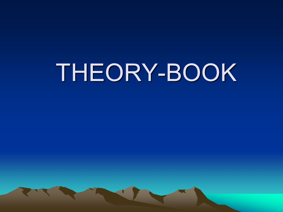 THEORY-BOOK