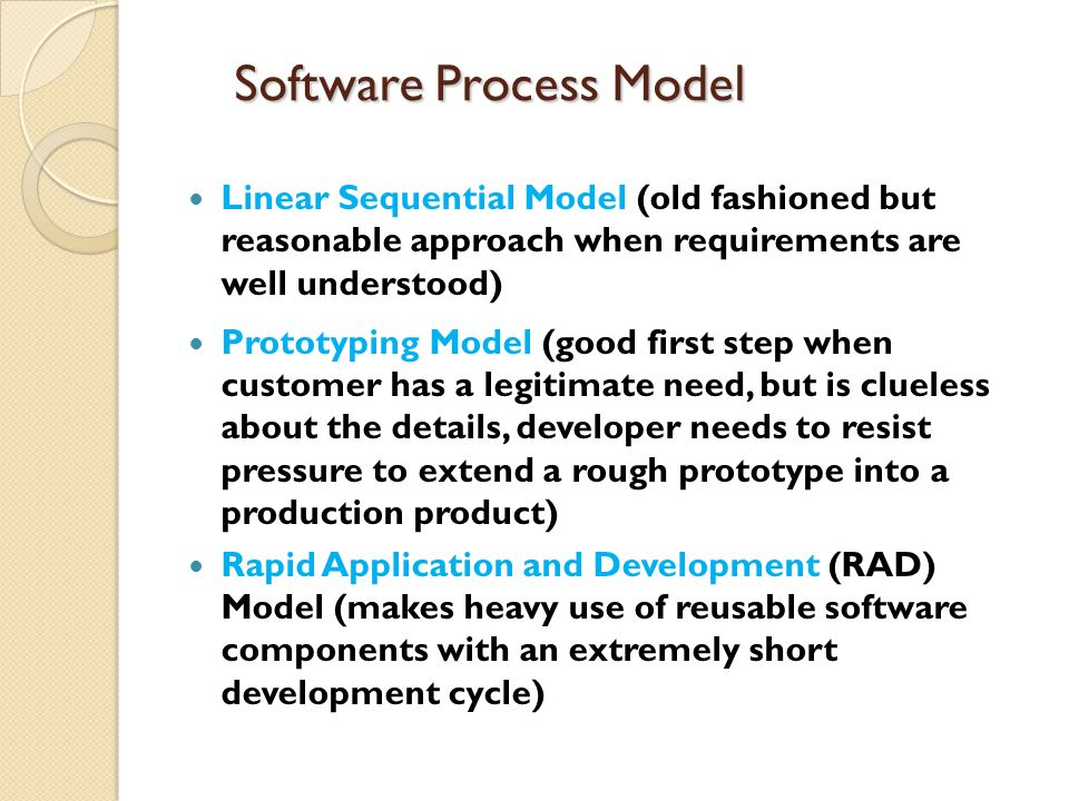 The Linear Model