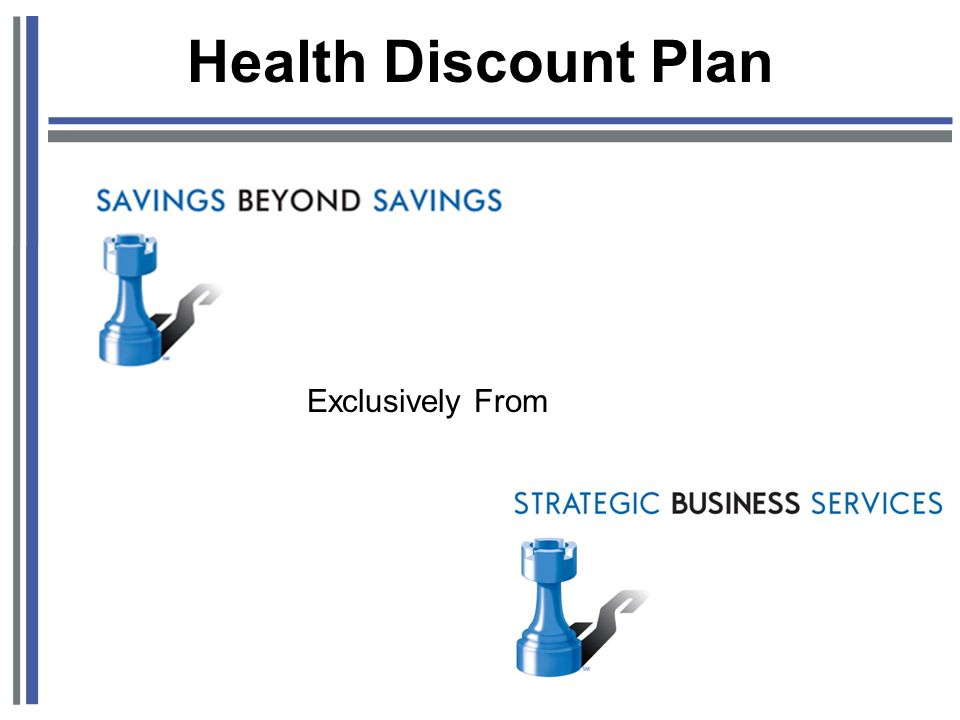 Health Discount Plan Exclusively From