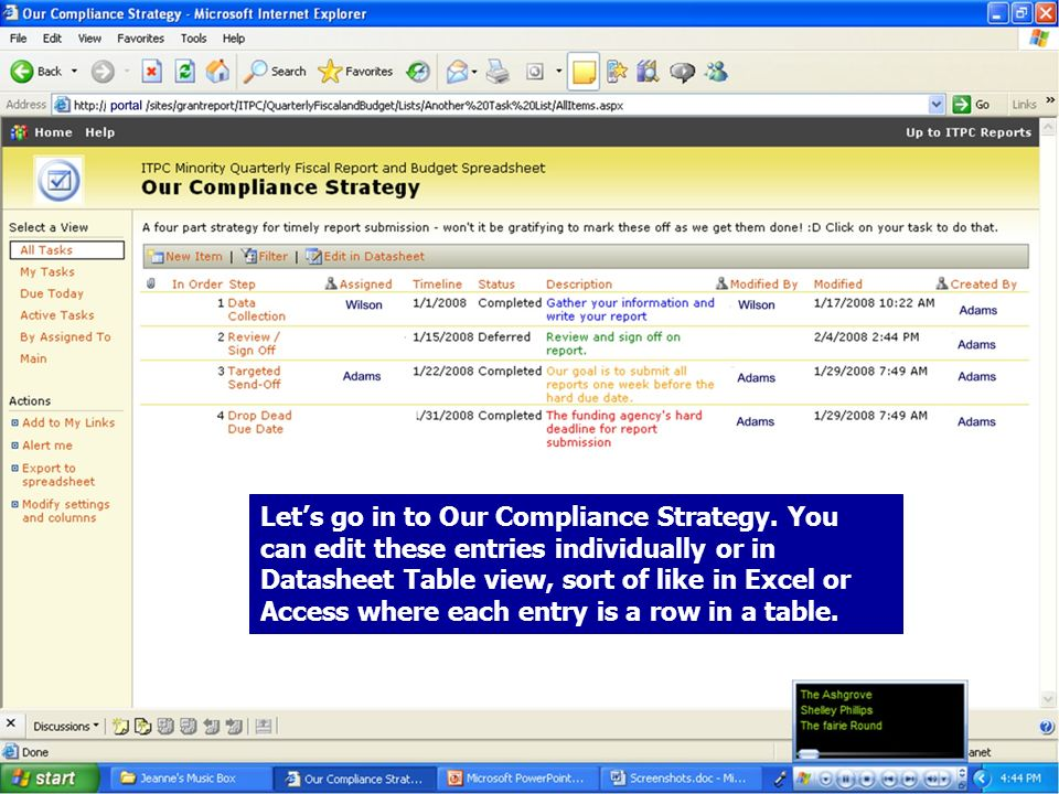 19 Lets go in to Our Compliance Strategy.