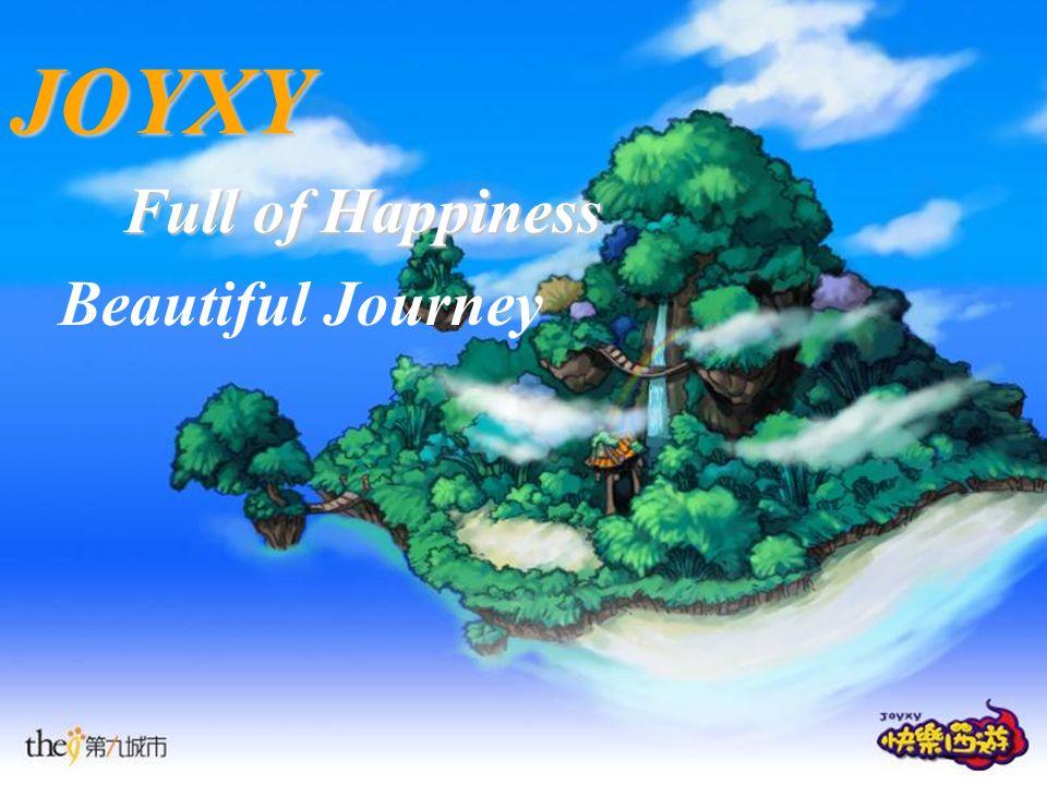 JOYXY Full of Happiness Beautiful Journey