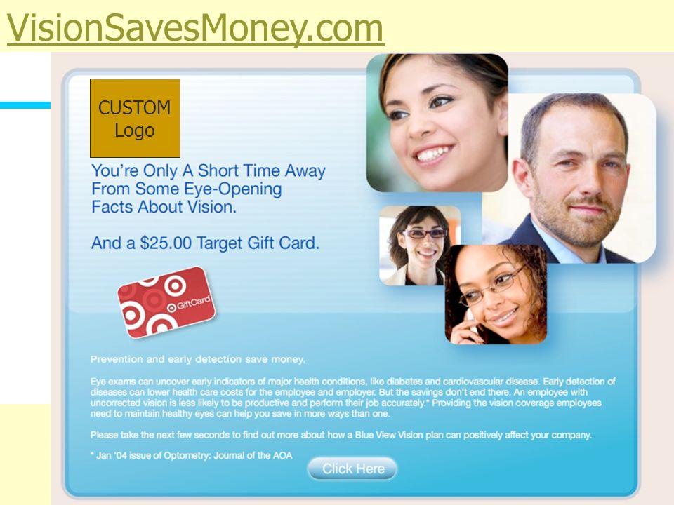 VisionSavesMoney.com CUSTOM Logo