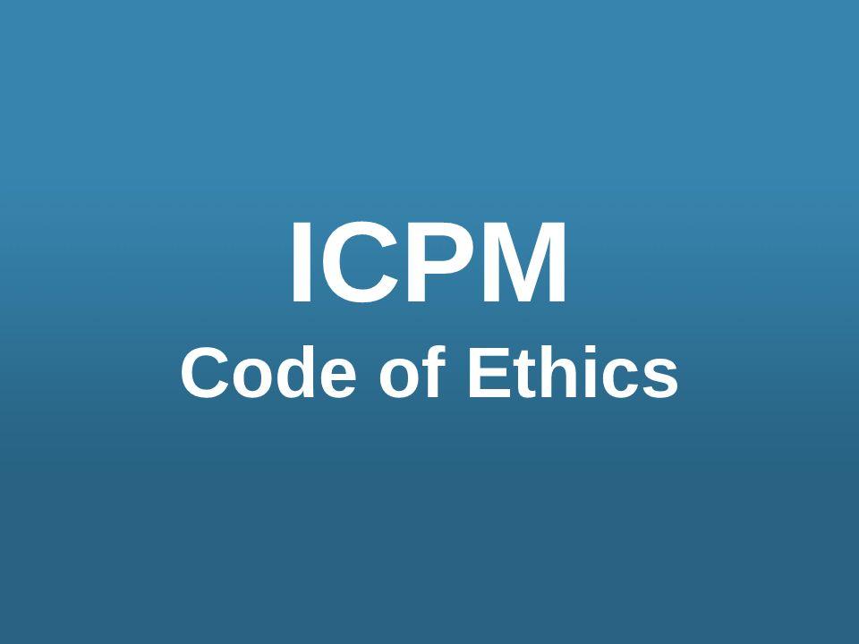 ICPM Code of Ethics