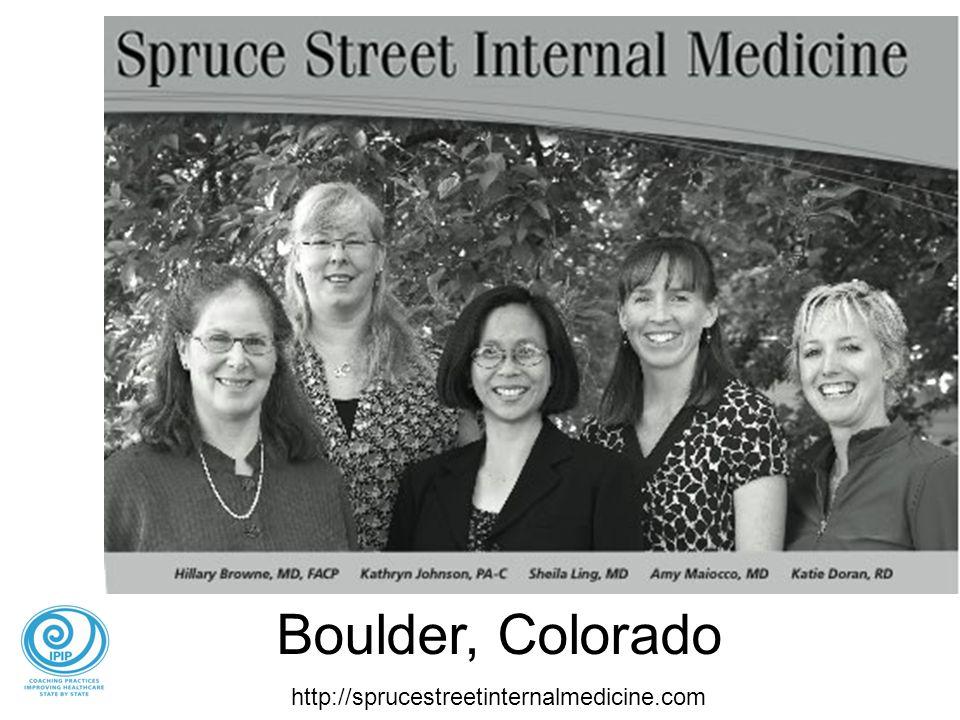 Boulder, Colorado http://sprucestreetinternalmedicine.com