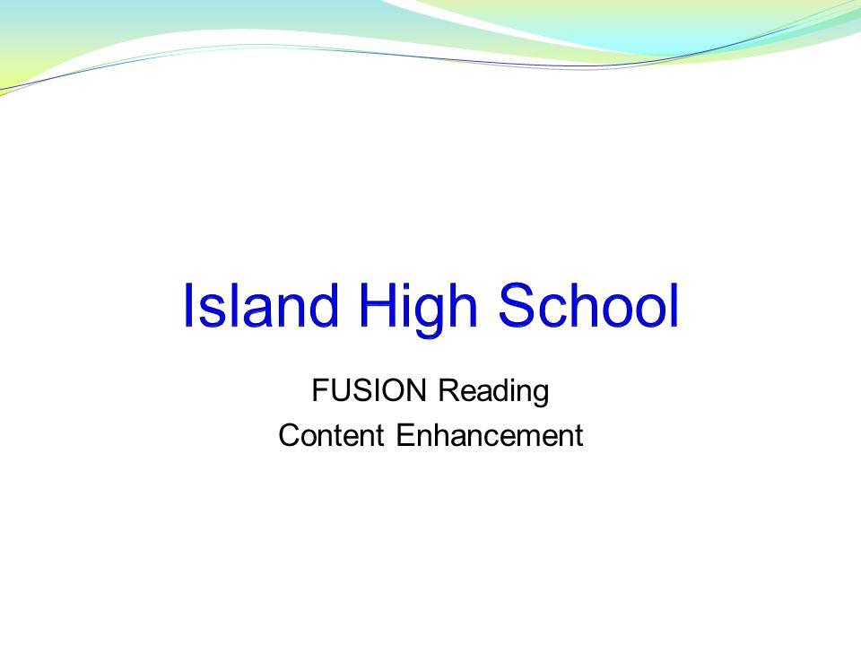 FUSION Reading Content Enhancement