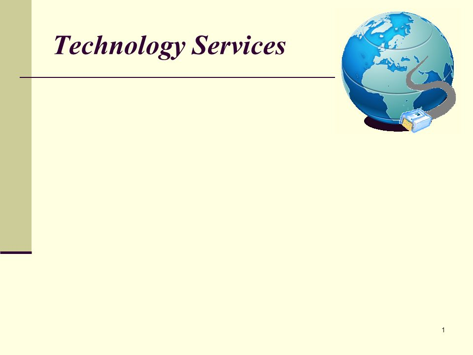 1 Technology Services