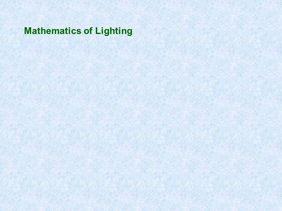 Mathematics of Lighting