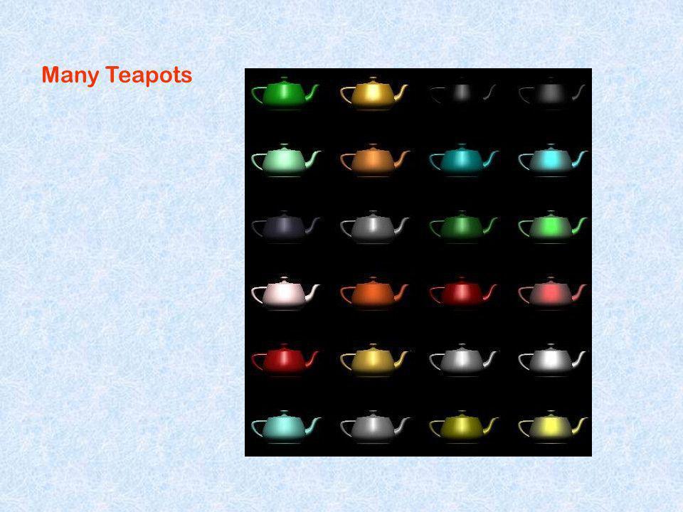 Many Teapots