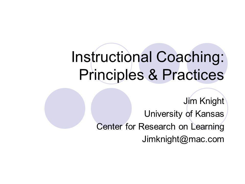 www.instructionalcoach.org Top-down Feedback