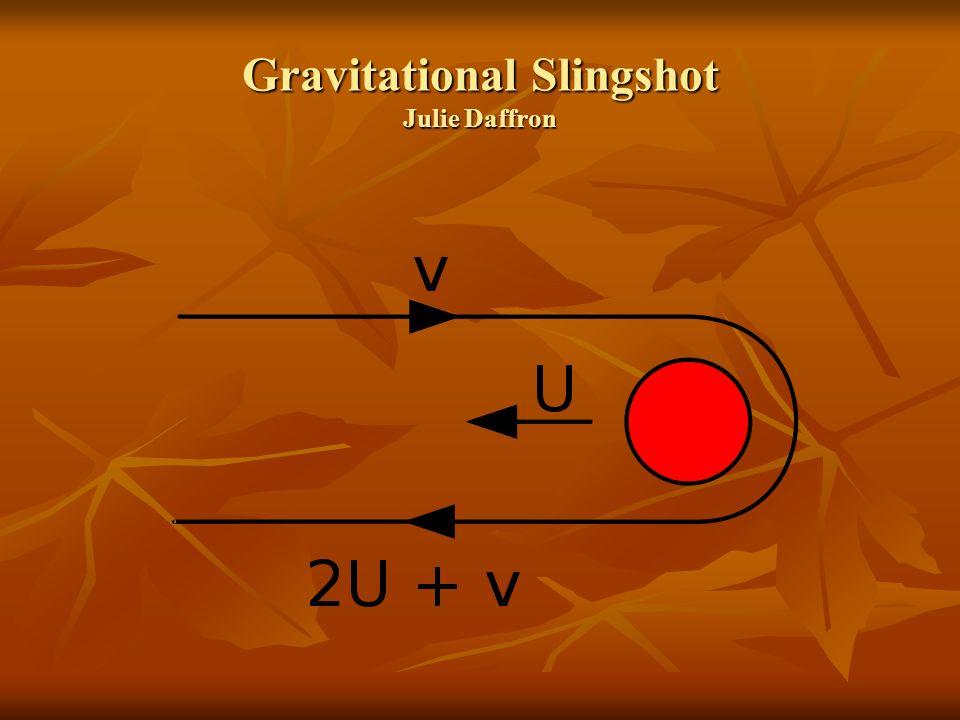 Gravitational Slingshot Julie Daffron