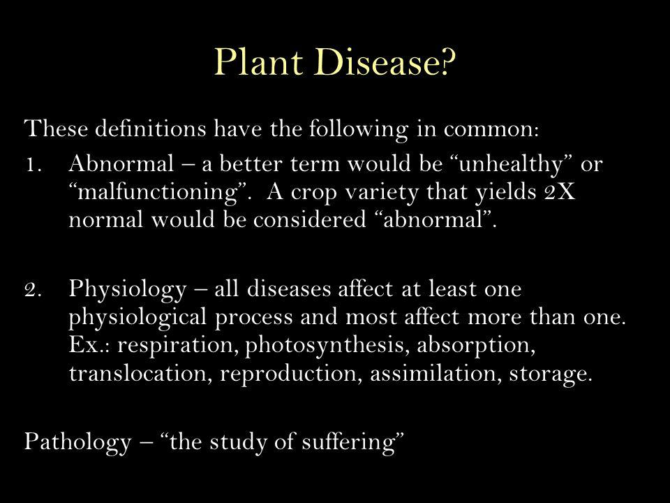 Plant Disease.