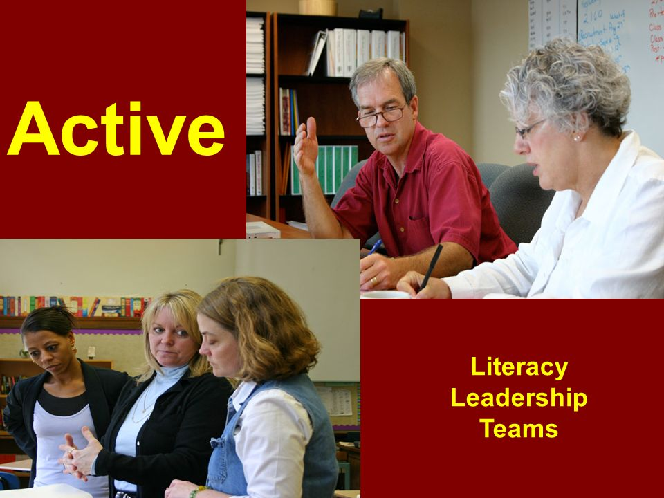 Active Literacy Leadership Teams