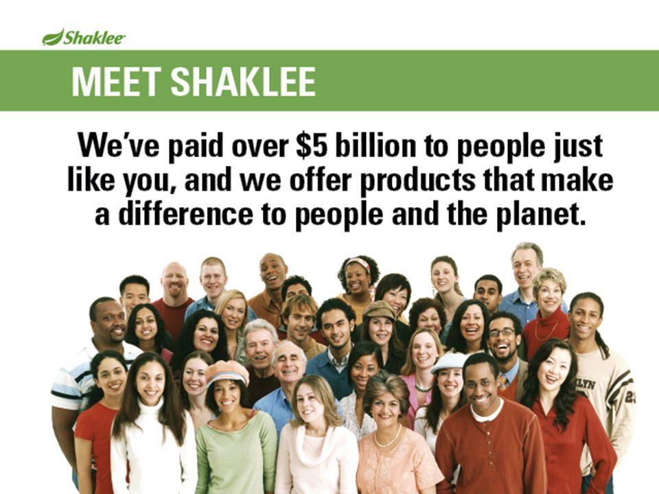 Meet Shaklee