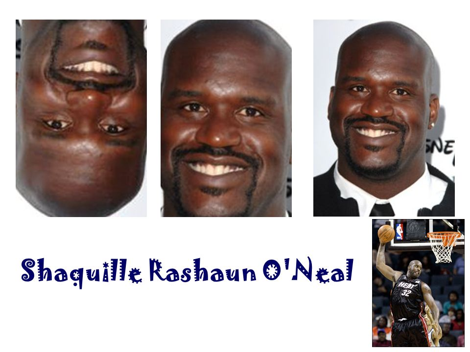 Shaquille Rashaun O Neal