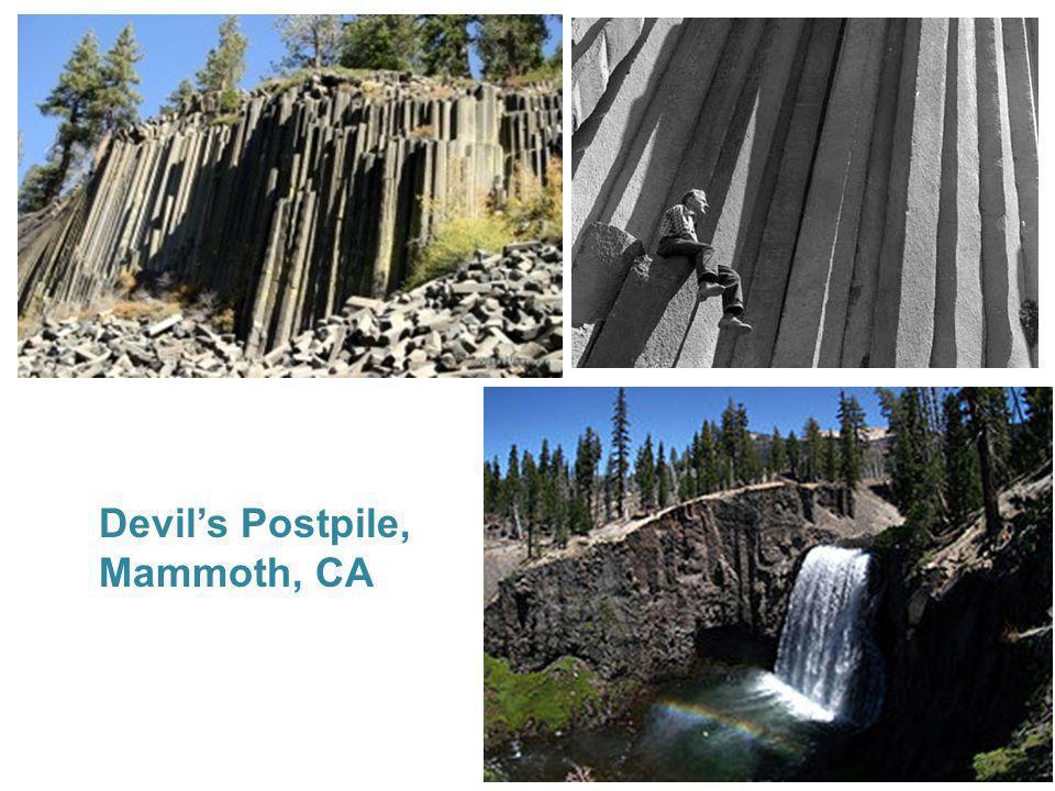 Devils Postpile, Mammoth, CA